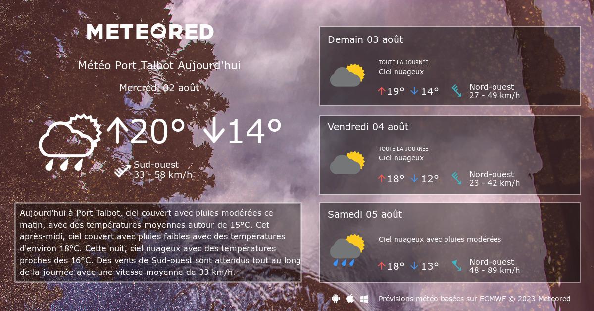 M t o port talbot 14 jours - Port barcares meteo 7 jours ...