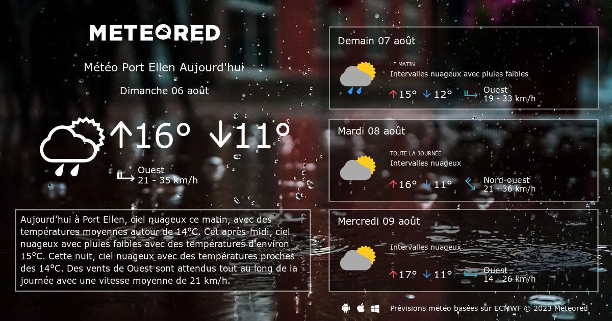 M t o port ellen 14 jours - Port barcares meteo 7 jours ...