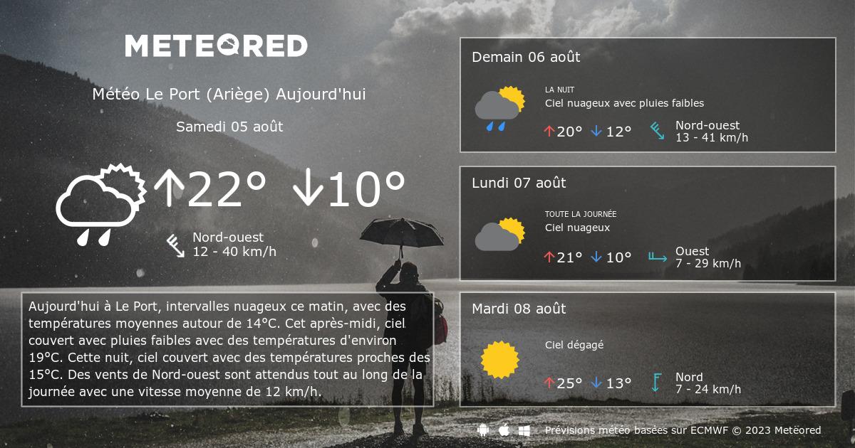 M t o le port ari ge 14 jours - Port barcares meteo 7 jours ...