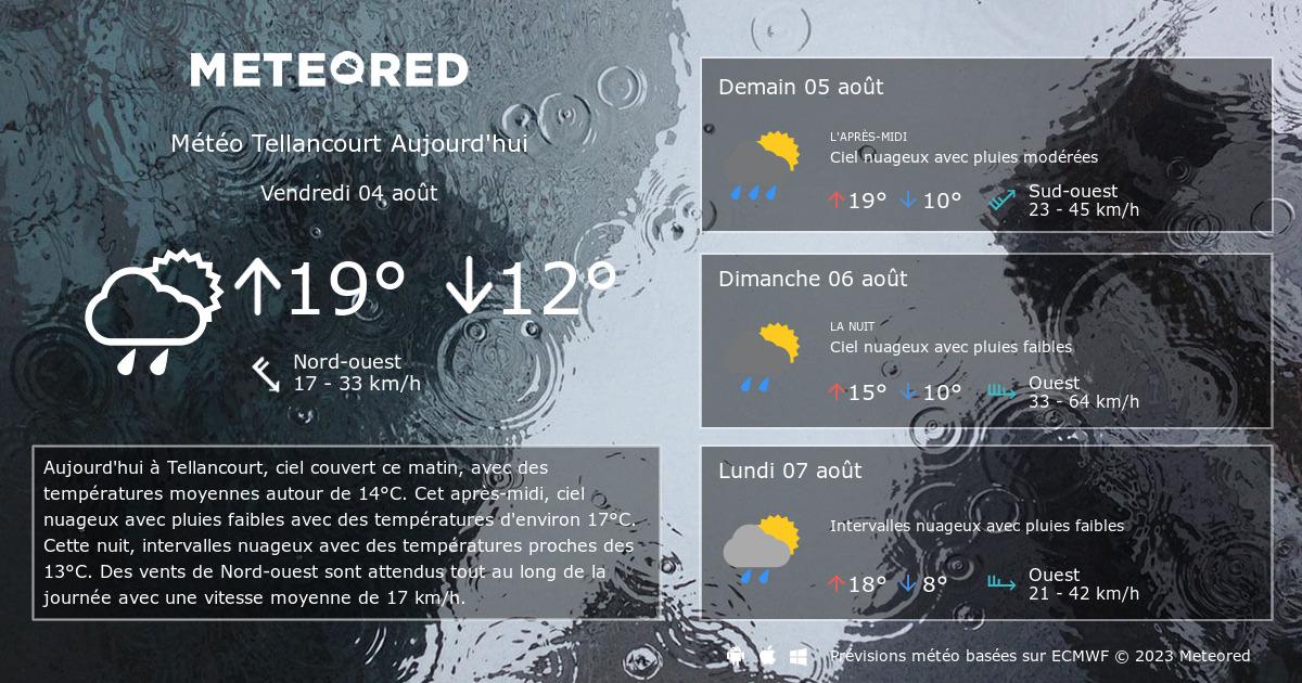 M t o tellancourt 14 jours - Meteo port barcares 14 jours ...