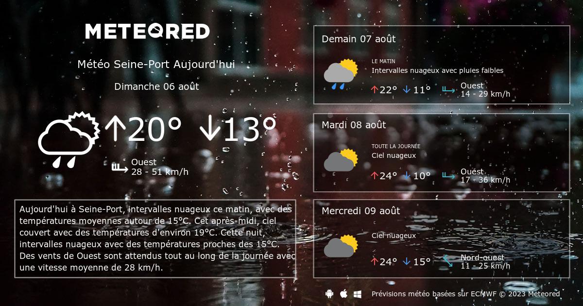 M t o seine port 14 jours - Port barcares meteo 7 jours ...