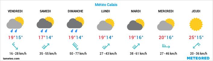 Météo Calais