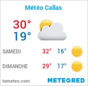 météo Callas